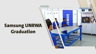 Samsung UNRWA Graduation