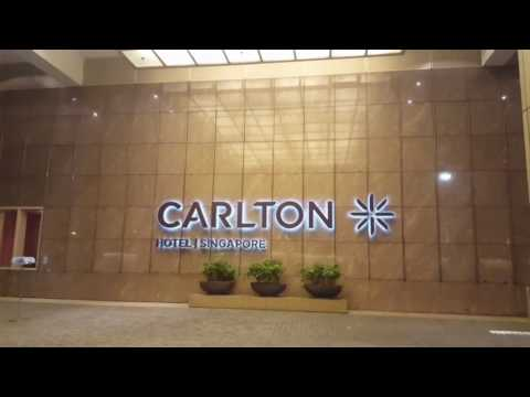 The Carlton Hotel Singapore - Video Tour of the Deluxe Room
