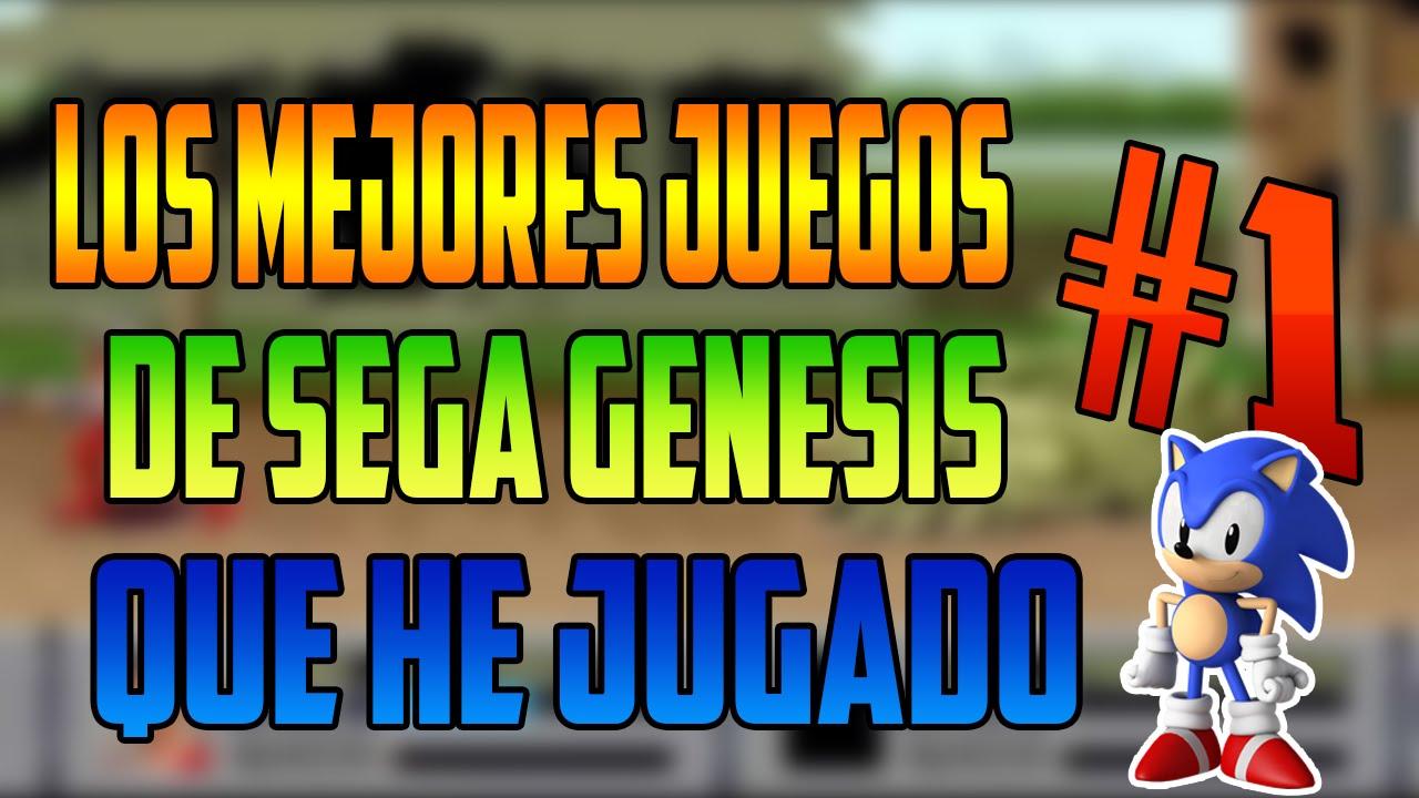 Los Mejores Juegos Del Sega Genesis Que He Jugado Parte 1 3 Youtube