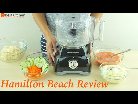 Hamilton Beach 8-Cup Food Processor Review - 70740