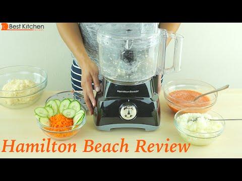 Hamilton Beach 8-Cup Food Processor Review - 70740