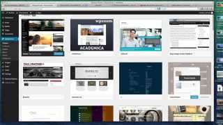 Wordpress 3.9 Complete Tutorial Video - Usage & Features