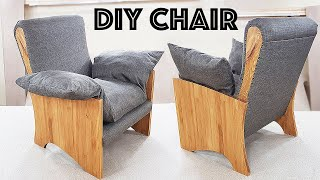 ARMCHAIR DIY furniture MANUFACTURE PROCESS