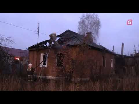 Пожар в Тамбовской области Сосновка 720p