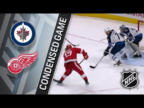 Winnipeg Jets vs Detroit Red Wings – Dec. 05, 2017 | Game Highlights | NHL 2017/18. Обзор матча