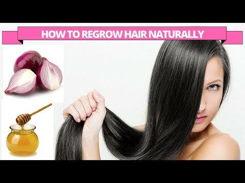 Onion & Honey for fast hair regrowth & control hair fall