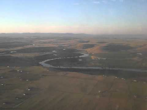 Great Falls, montana airport departing