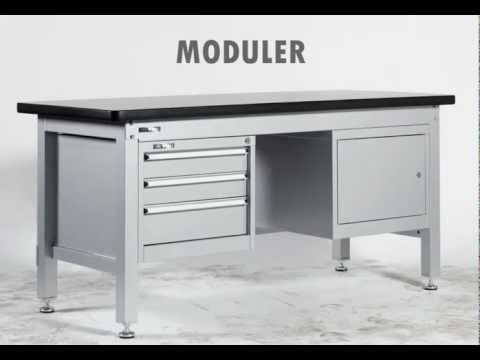 optimachines mobilier d 39 atelier youtube. Black Bedroom Furniture Sets. Home Design Ideas
