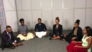 Quentin Vennie Guides BE Through a Short Meditation Session