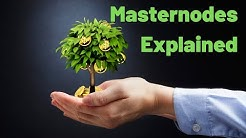 """Masternodes Explained For Dummies! """"Passive Income"""" or Waste of Time?"""