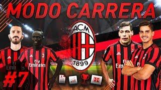 Inter y juventus! partidazos! | fifa 18 modo carrera: milan #7