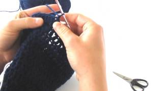 How to Crochet a Toddler Beanie Hat (Part 2)
