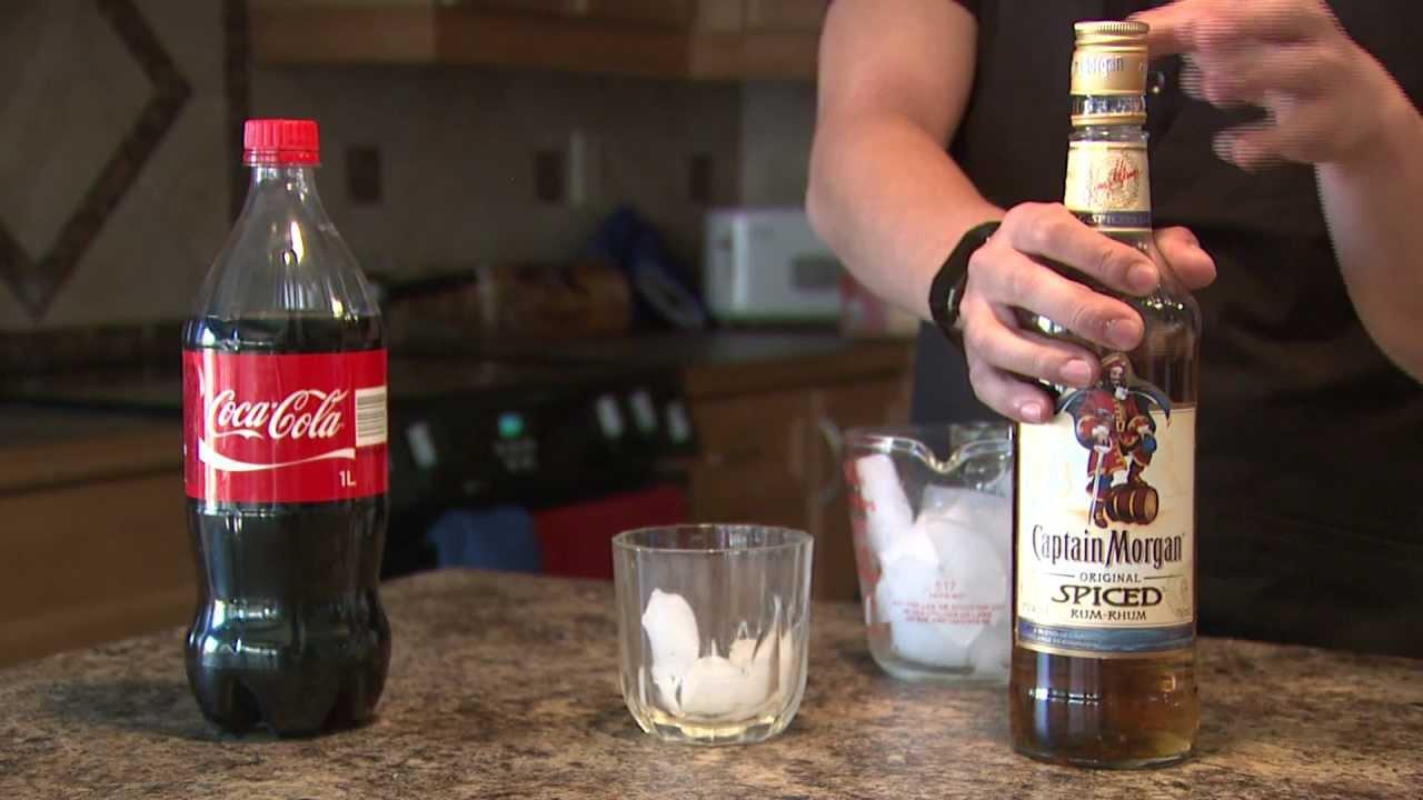 captain morgan cola recept