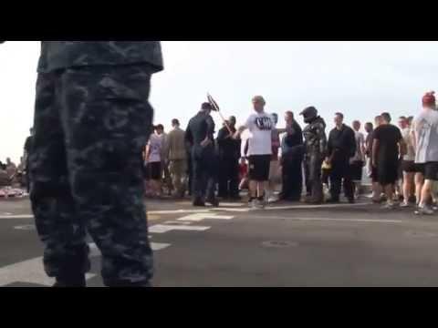 USS NEW YORK (LPD 21) Shellback Ceremony