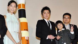ロケット発射音が劇場にこだま。その振動に前田旺志郎もビックリ!