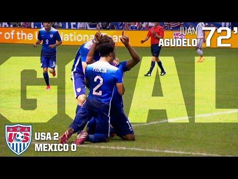 MNT vs. Mexico: Juan Agudelo Goal - April 15, 2015