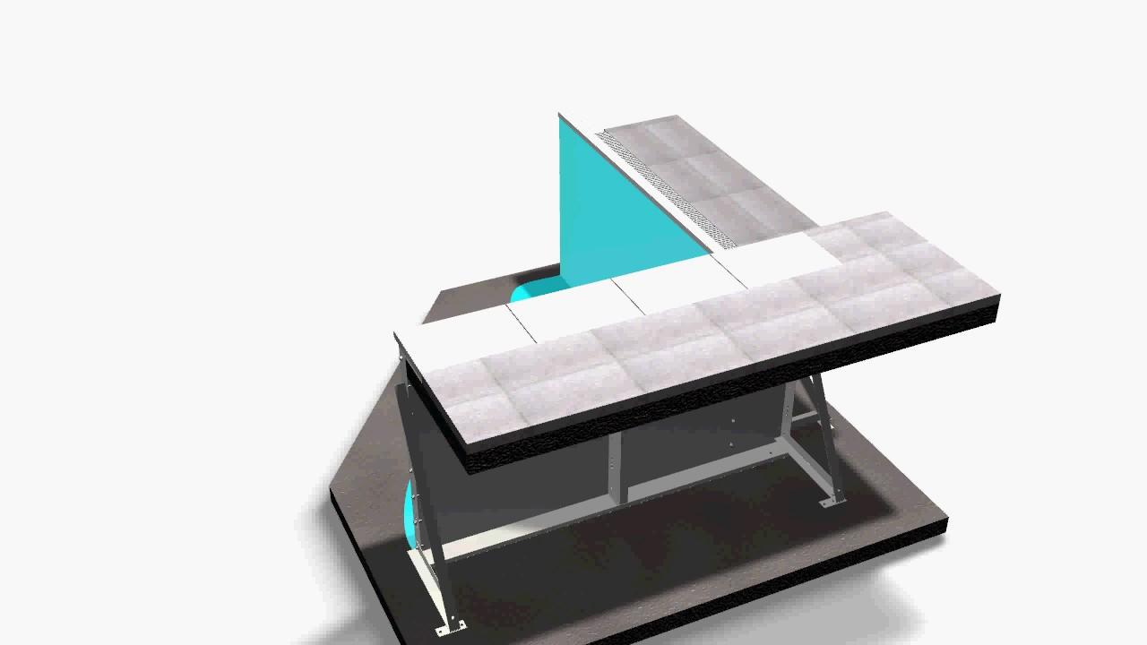 Piscine Sfioro A Cascata 3d pannello in acciaio per piscine skimmer con bordo a