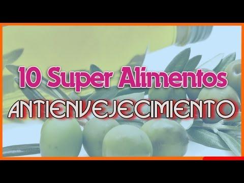 10 super alimentos antienvejecimiento nueces te verde ar ndanos y m s youtube - Alimentos antienvejecimiento ...