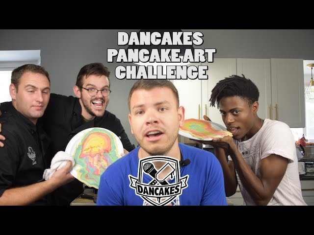 PANCAKE ART CHALLENGE, DANCAKES EDITION! Episode 2: GUY FIERI, JELLYFISH