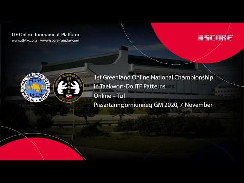 1st Greenland Online National Championship in Taekwon-Do ITF Patterns