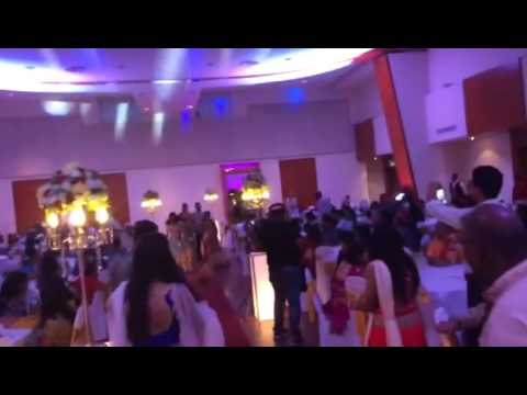 Malaysian Indian Best Wedding Reception Welcome Songs Flash Mob Part 1 LogeswaranwedsVijayaletchumi