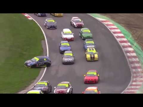 Crashes, smashes & spins MGCC (Saturday), Brands Hatch, 28 April 2018