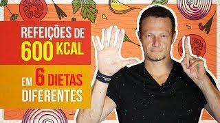 dieta 600 kcal menu