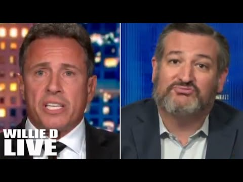 Chris Cuomo DESTROYS Ted Cruz In Front of Everybody for Licking Trump's Boots