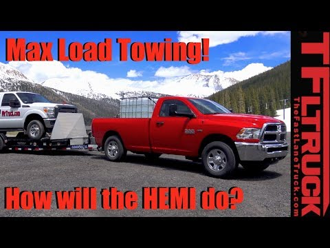 2017 Ram HD 2500 HEMI vs Super Ike Gauntlet World's Toughest Towing Test