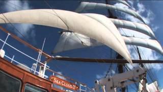 Lindblad Sea Cloud Sailing Caribbean Cruise Vacations & Travel Videos