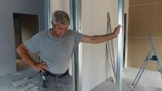 Czy warto stawiać ściany działowe z  płyt gipsowych.