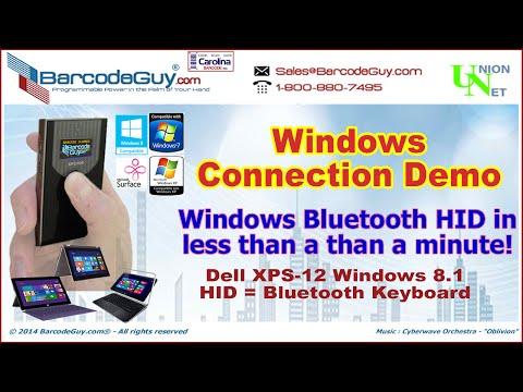 Windows Barcode Scanner   Win 8 1 bluetooth barcode scanner