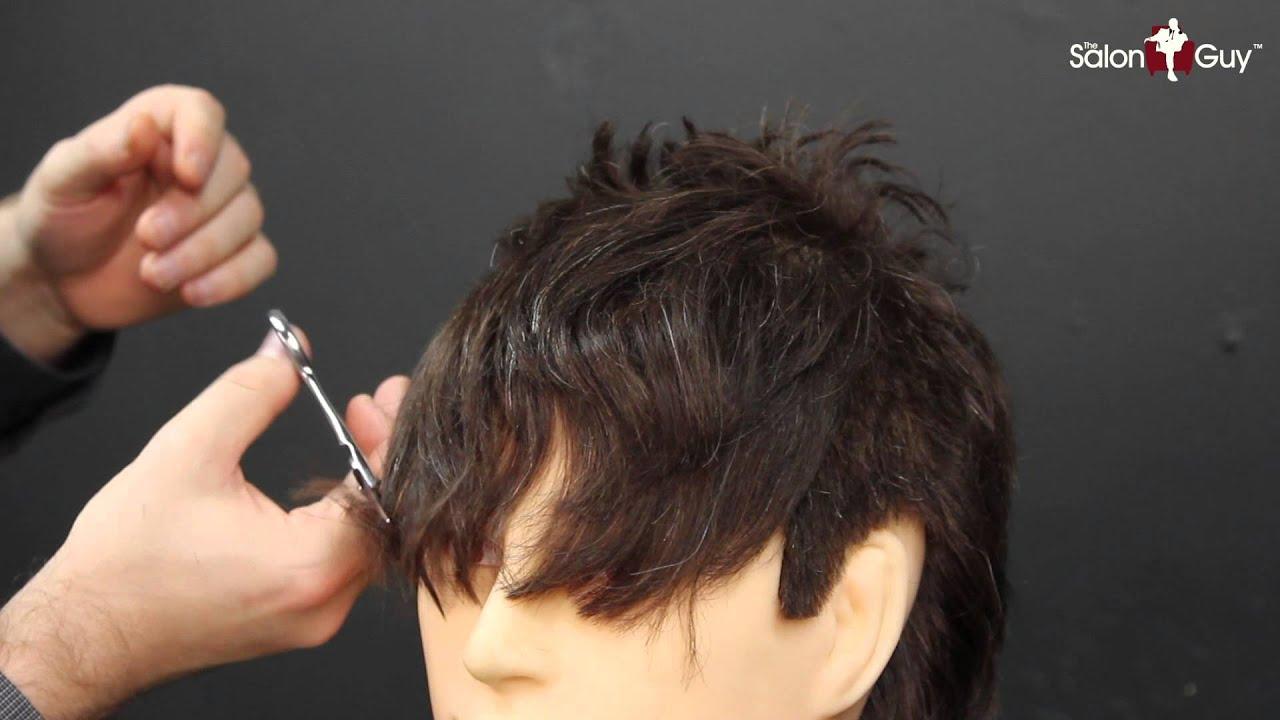 Men's Bangs Haircut Tutorial