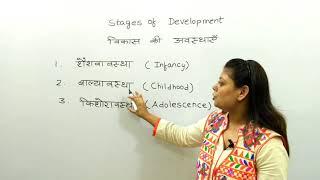 संविदा परीक्षा 2018 - विकास की अवस्थाएं || Stages of Development