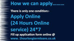1 Hour Loans- Long Term Bad Credit Loans