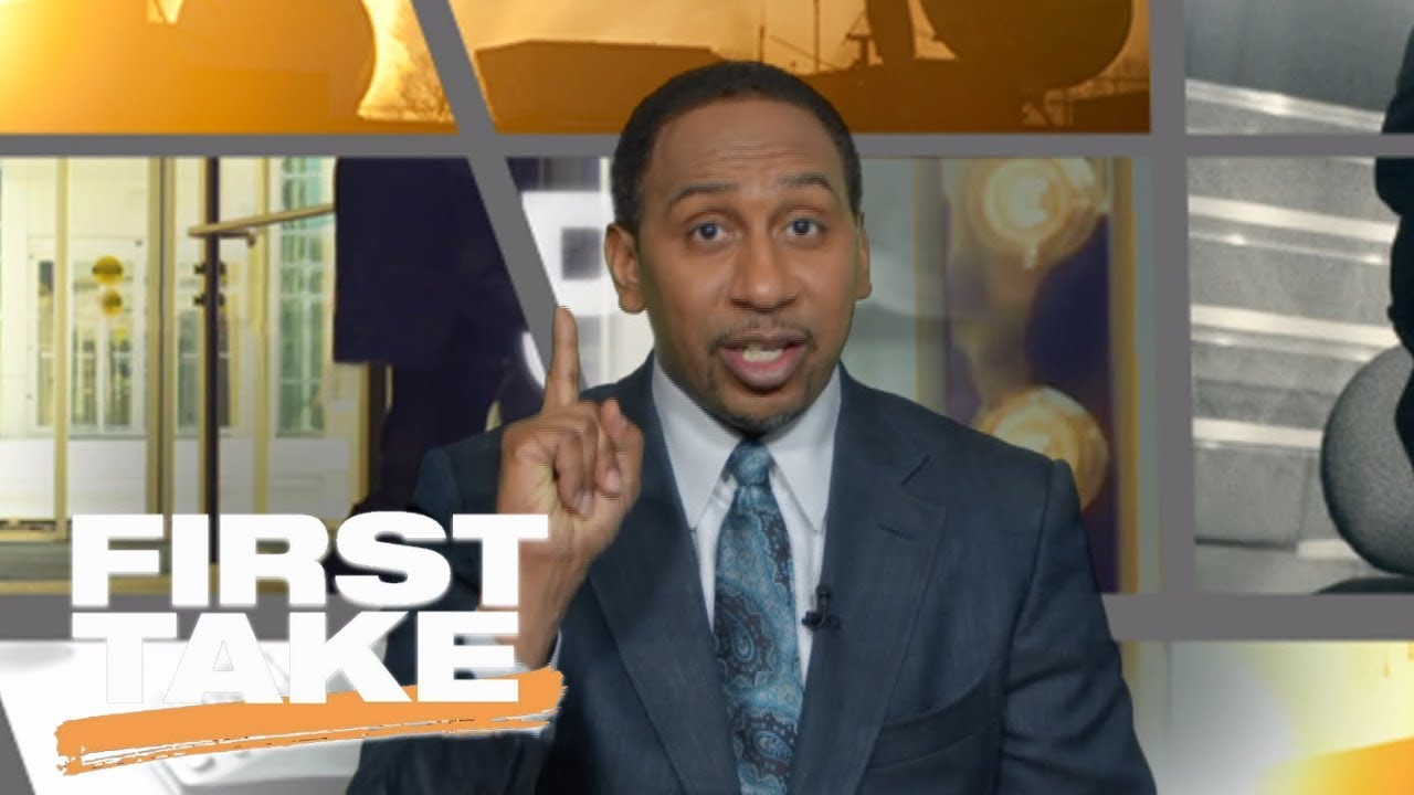 Stephen A. calls for John Wall to step up and challenge LeBron James | First Take | ESPN
