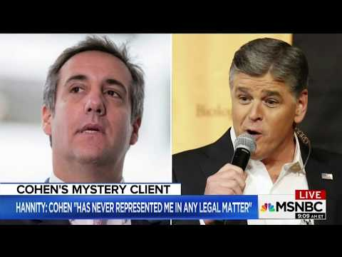 Midwin Charles on Whether or Not Sean Hannity is Michael Cohen's Client