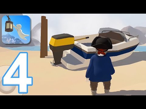Human Fall Flat Mobile - Gameplay Walkthrough Part 4 - Level 7: Water (iOS, Android)