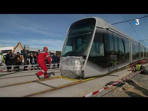 le nouveau tram de Caen livré 7 mois avant la mise en service