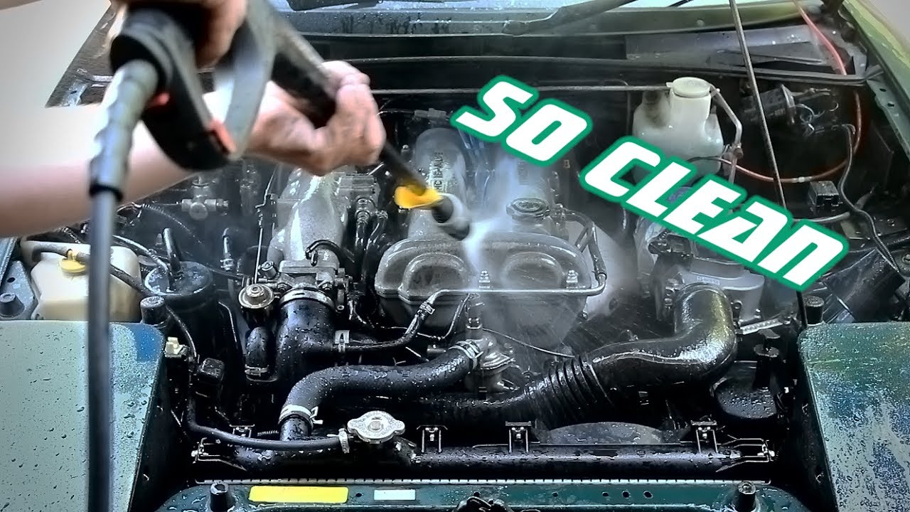 How To: Safely Pressure-Wash Your Engine Bay - YouTube