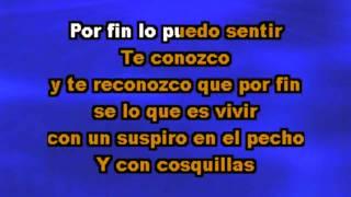 Karaoke   por fin   Pablo Alboran