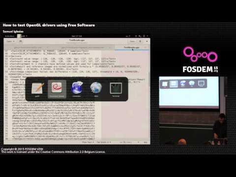 FOSDEM 2015 - Developer Room - Graphics - L Testin
