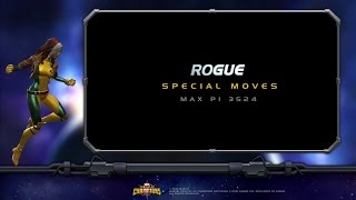 Rogue Special Moves | Marvel Contest of Champ...