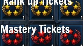 Marvel- Future Fight- Rank Up and Mastery Tickets Explained