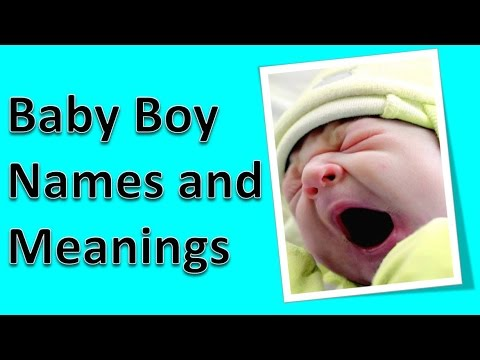 Baby Boy Names and Meanings - Hindu