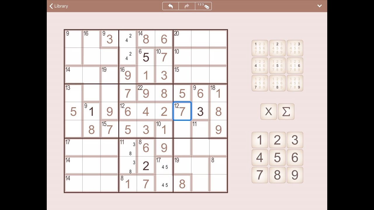 SumSudoku for iPhone, iPad and Android