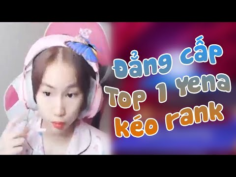 Liên Quân Mobile | Bích Vân Đẳng cấp Top 1 Yena kéo rank Chỉ thắng không thua !!!