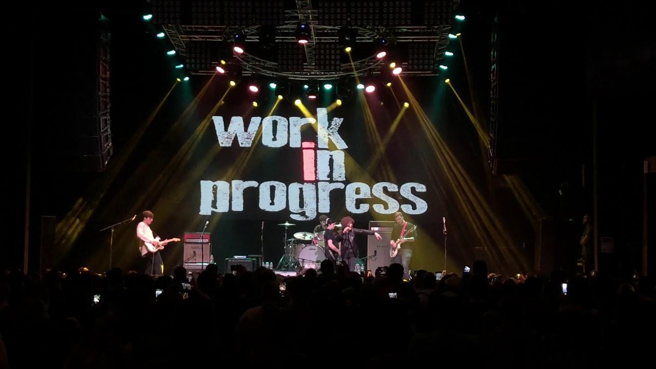 Gaten Matarazzo / Work in Progress - Santeria (Gas Monkey Live)