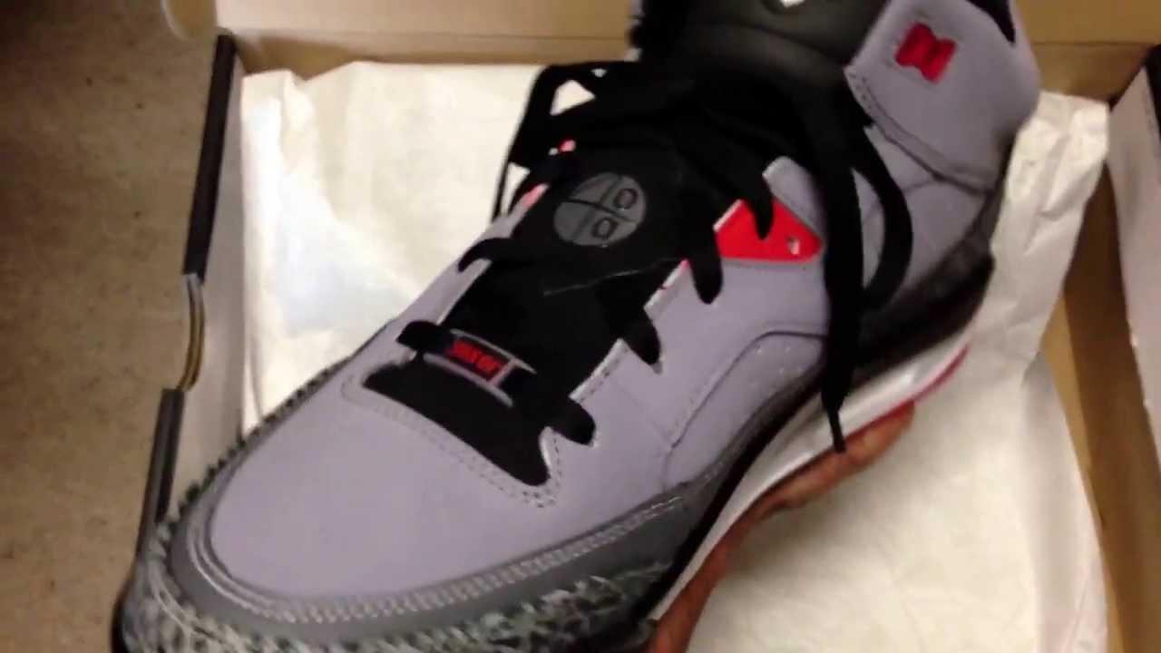 48cbd5dc3acf New Jordan Son of Mars Grey Cement Aug 2013!!! - YouTube
