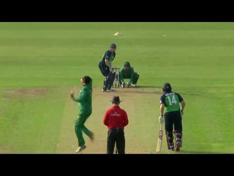 Ireland's All Fall Of Wickets vs Pakistan, Ireland vs Pakistan 1st ODI 2016   YouTube
